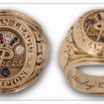 1955 Mickey Mantle Yankees AL Championship ring