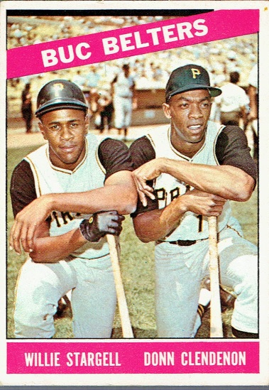 Buc Belters card 1966 Topps