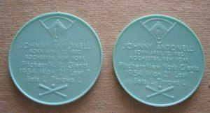1955 John Antonelli Armour Coin variations