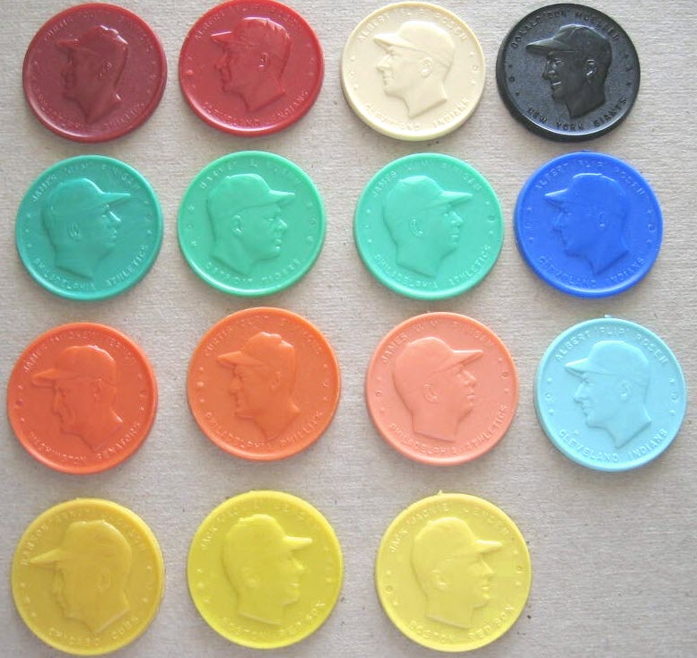 Armour coin color variations