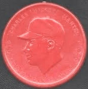 Mickey Mantle red Armour coin error variation