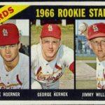 Cardinals rookie stars 1966 Topps 544