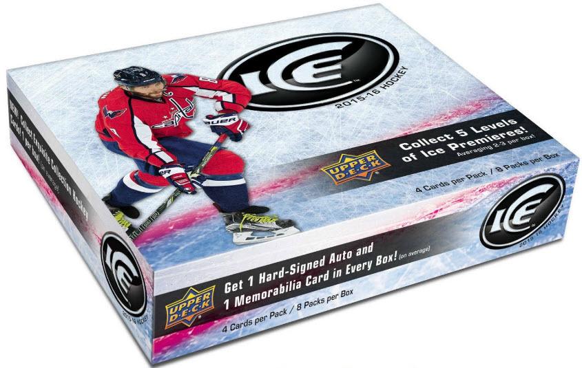 Unopened box 2015-16 Upper Deck Ice