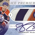 Connor McDavid rookie Upper Deck Ice
