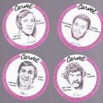 Carvel 1975 basketball discs