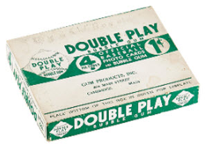 Double Play Baseball 1941 display box
