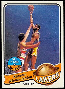 Topps 1979-80 Kareem Abdul-Jabbar