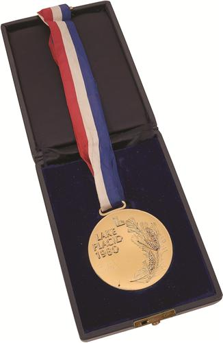 1980 Olympic Gold Medal Jim Craig