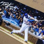 Autographed Kris Bryant photo