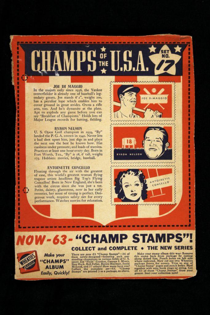 JoeDiMaggio_1941Wheaties