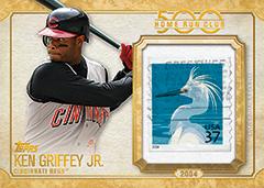 2016 Topps Update Baseball Ken Griffey Jr 500 home run club stamp