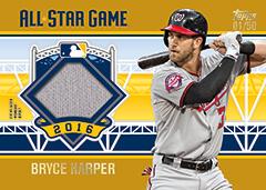 Bryce Harper 2016 Topps All-Star Stitches