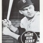 1959 Home Run Derby card Al Kaline