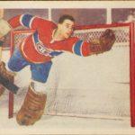 Jacques Plante rookie card 1955-56 Parkhurst