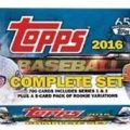 Topps 2016 Factory Set Baseball Retail