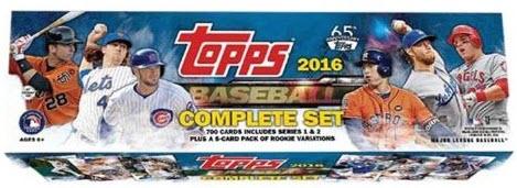 Topps 2016 Factory Set Baseball Retail