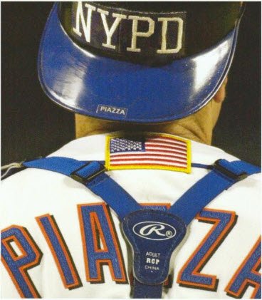 Mike Piazza NYPD helmet