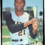 Roberto Clemente 1970 Topps Supers