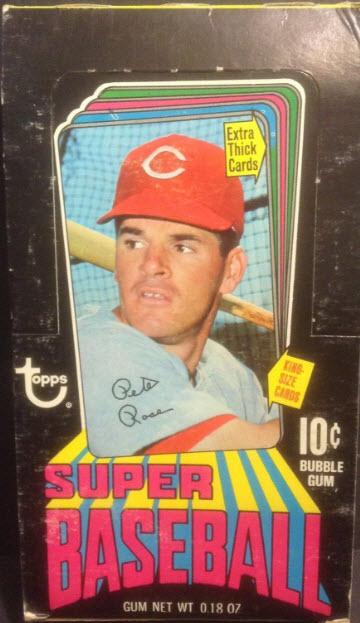 topps 1970 Super box