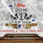 Topps Tier One 2016 hobby box