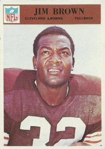 Jim Brown 1966 Philadelphia Gum