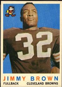 Jimi Brown 1959 Topps