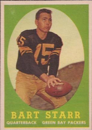 Bart Starr 1958 Topps