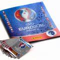 Euro 2016 Panini soccer sticker album packs