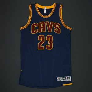 2016 NBA Finals Game 1 LeBron James jersey