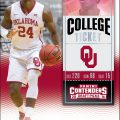 Buddy Hield College Ticket trading card