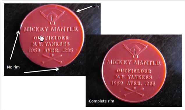 1960 Armour coins Partial rim Full rim