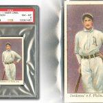 Joe Jackson 1909 rookie card