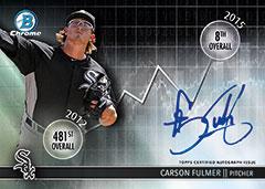 2016 Bowman Draft Carson Fulmer autograph