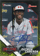 Dez Cameron 2016 Bowman Draft All-American