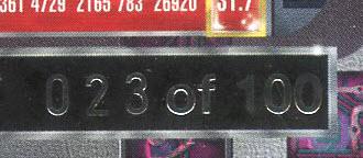 1997-98 PMG Jordan Numbered 23