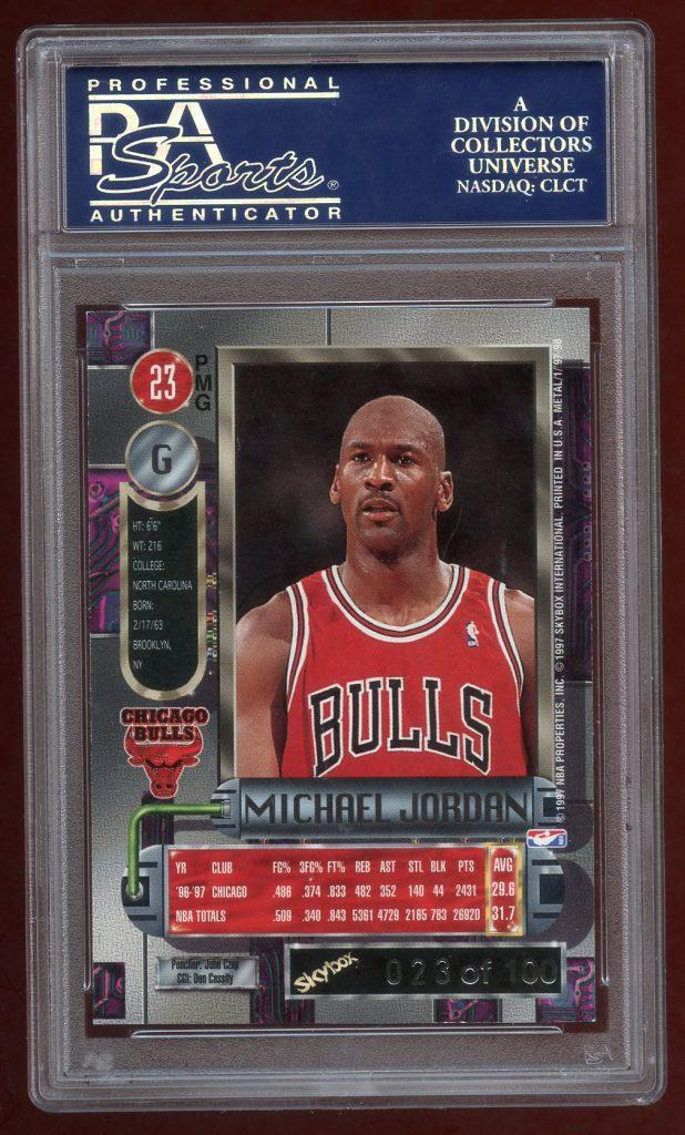 Michael Jordan PMG Red 1997-98 23