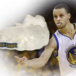 Stephen Curry used mouthguard