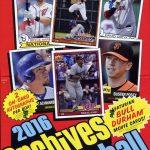 Topps Archives Baseball 2016