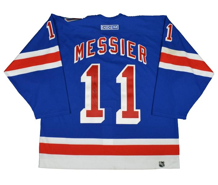 Rangers 9-11 tribute jersey Mark Messier