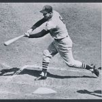 Stan Musial 3000th hit photo