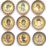 Coke baseball bottle caps 1967