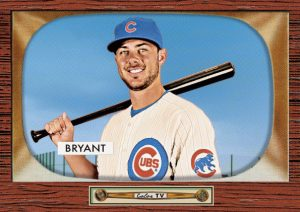 Kris Bryant Topps Throwback 1955 Bowman design