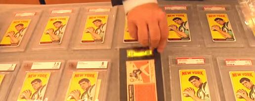 Joe Namath rookie cards