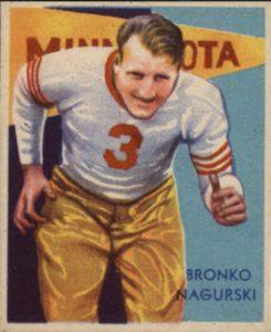1935 National Chicle Bronko Nagurski