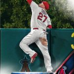 Mike Trout stadium giveaway Topps card 2016