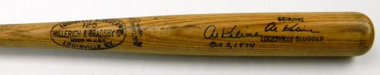 Al Kaline last bat
