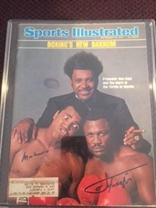 Ali autographed Sports Illustrated