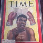 TIME Magazine Muhammad Ali autograph