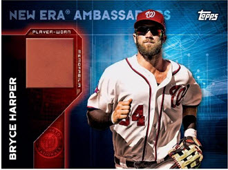 Bryce Harper New Era Topps baseball card