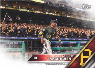 Andrew McCutchen 2016 Topps New Era baseball card